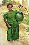 Girl on Way to Fetch Water