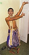 A Student at Keshava Dance School, Bangalore