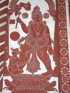 Depiction of Parashuram in Kavi Art