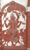 Lord Krishna in a Kavi Art Mural