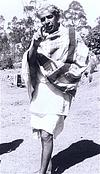 Man Belonging to Toda Native Community