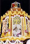 Floral Decorations of a Deity