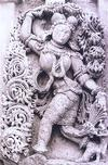 Ornately Decorated Sculpture