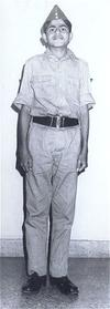 Vikas in Paramilitary Uniform, 1983