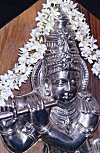 Metallic Icon of Lord Krishna