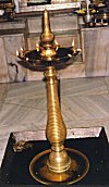Oil Lamp with Stand