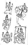 The Avatars of Lord Vishnu as depicted in temple sculptures
