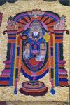 Floral Relief of Lord Venkateswara