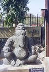 Ganesh Idol from Warangal Museum