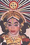 A woman Yakshagana performer