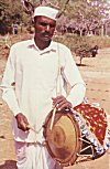A drummer from Dharwad