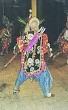 a dancers in action