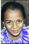 Child of Chilli vendor, Bhagya