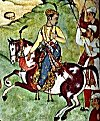 Horse-mounted Akbar
