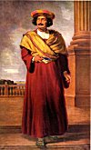 Oil Painting of Raja Ram Mohan Roy