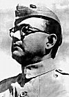 Netaji Subhas Chandra Bose in INA Uniform