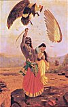 The Death of Jatayu by Ravi Varma