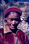 A Old tribal woman from himachal Pradesh