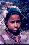 A tribal youngster in himachal Pradesh