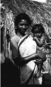 A kadu kuruba -- mother and child