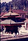 A different type of Gopuram  of a temple in Himalayan region