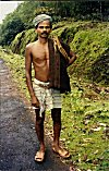 Picture of a Farmer Belonging to Halakki Tribe