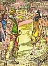 An Illustration from Chandamama Monthly