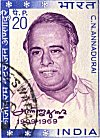 Portrait of Annadurai