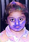 A Holi Player