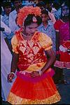 A young dancer in a procession