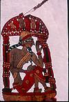 Leather puppet, Late P. R. Tippeswamys collection,