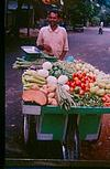 Drum, ladies finger, fouring brinjals, carrots, tomato, capsicum, they are all at your door step on push cart.