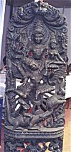Vishnu, Laxmi and Garuda
