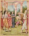 Sita Changing into Bark Cloth while Relatives Grieve
