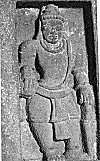 Muscular watchman from Aihole
