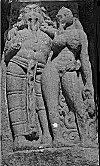 Amorous Couple, Aihole