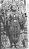 Sculpture of Standing Vishnu