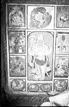 Wall painting in Mysore traditional style, Mysore, 1985
