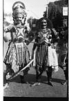 Yakshagana characters in the procession, 1985