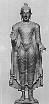 A Serene Statue of Lord Buddha