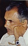 Thinking of his next great novel -- S.L. Bhyrappa