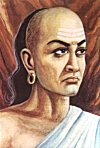 Portrait of Chanakya