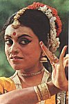Portrait of a South Indian Dancer