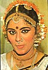 The jewelry of a classical dancer
