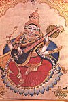 Goddess Saraswati <br>The Hindu Deity of Learning and Knowledge
