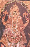 Painting of Lord Vishnu