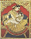 Yashoda Breast-feeding Krishna