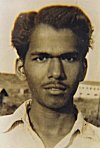 Picture of K. L. Kamat 1954