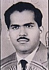 K. L. Kamat - from his Passport, 1961