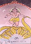 Boy Krishna Tames the Evil Serpent Kalinga